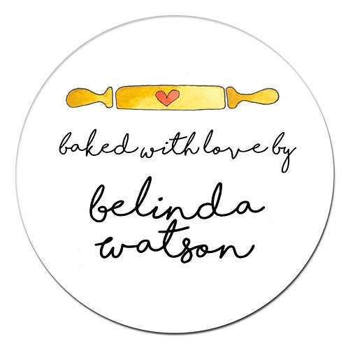 Rolling Pin Sticker