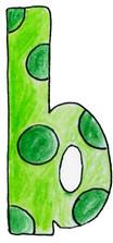 B L Green Dots