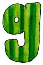 G L Green Stripes