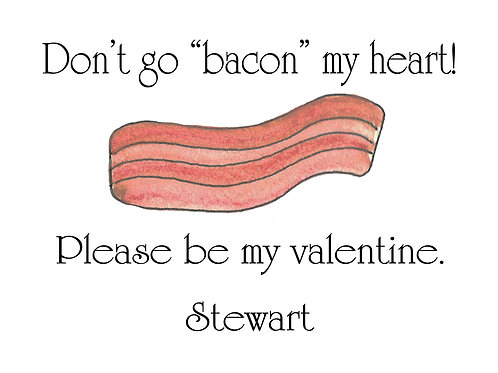 Bacon Valentine