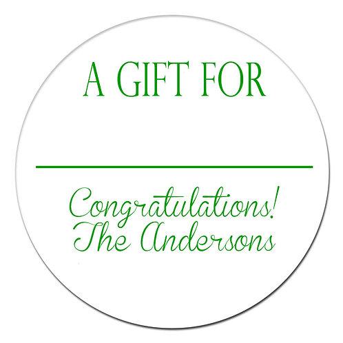 Gift for Grad Green