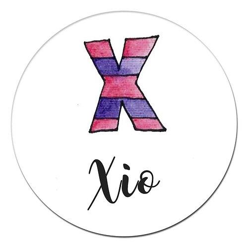 X Purple Stripe