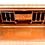Thumbnail: ANTIQUE SECRETARY WITH BRASS RAIL