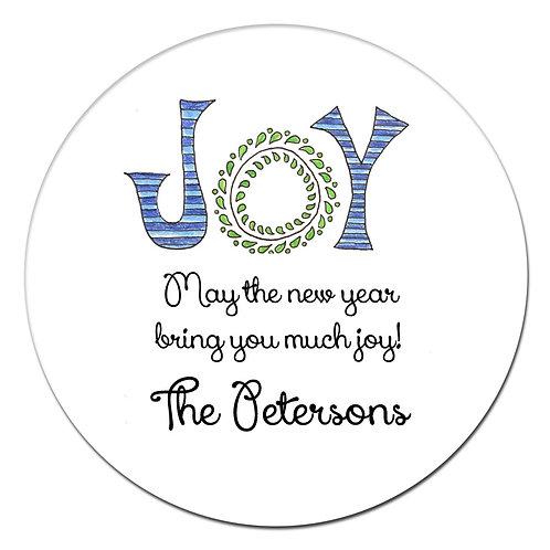 Joy Stripe Sticker