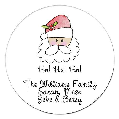 Papa Christmas Sticker