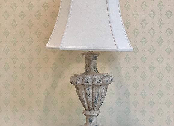 WEATHERED URN LAMP