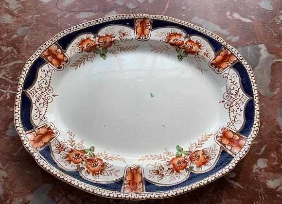 Antique Porcelain Platter