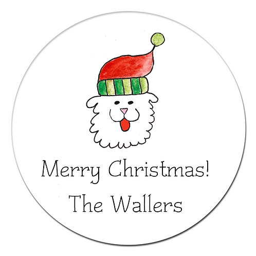 Stella Holiday Sticker
