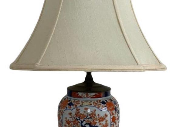 ANTIQUE IMARI LAMP