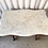 Thumbnail: ANTIQUE MARBLE TOP 1 DRAWER TABLE
