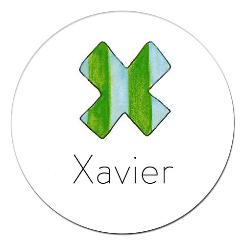 X Green Stripe
