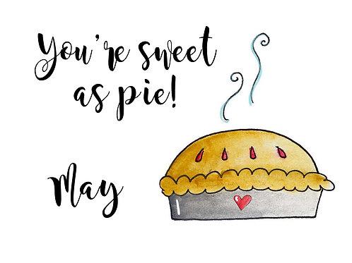 Pie Valentine