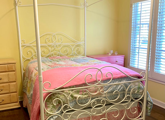 IRON FULL CANOPY BED