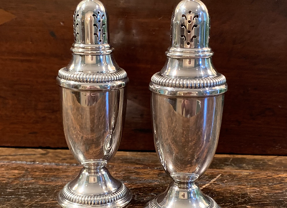 PAIR OF STERLING S&P SHAKERS