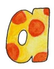 A L Yellow Orange Dots