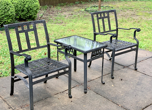2 OUTDOOR FURNITURE SEATING GROUPS