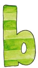 B L Green Stripe