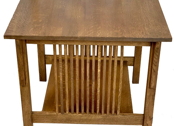 STICKLEY MISSION STYLE SIDE TABLE