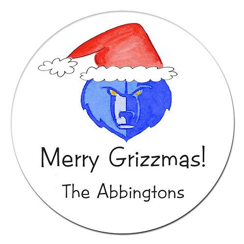 Grizzmas Sticker