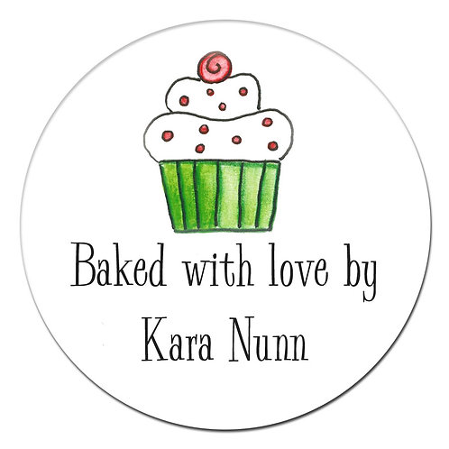 Sweet Cupcake Sticker