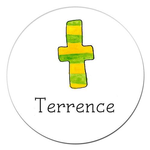 T Green Stripe