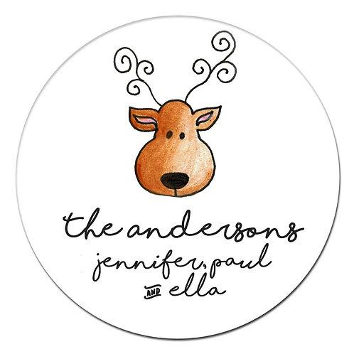 Deer Mount Sticker
