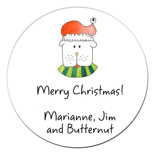 Minnie Holiday Sticker