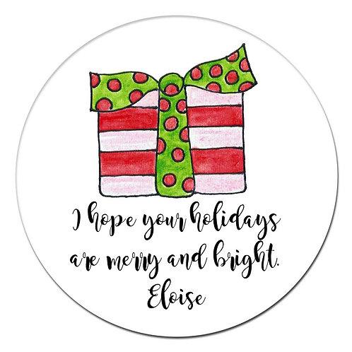 Gift Dot Sticker