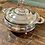 Thumbnail: SILVERPLATE FOOTED CASSEROLE DISH
