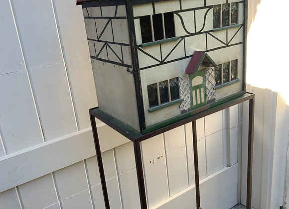 ENGLISH DOLL HOUSE ON STAND