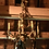 Thumbnail: FRENCH WOODEN CHANDELIER WITH 8 LIGHTS