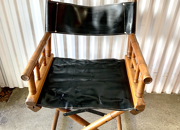 ANTIQUE BAMBOO DIRECTORS CHAIR
