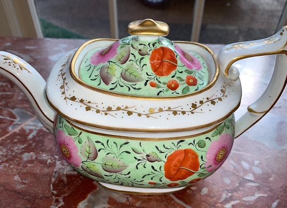 Porcelain Antique Tea Pot