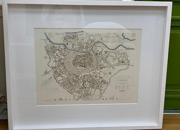 MAP OF VIENNA