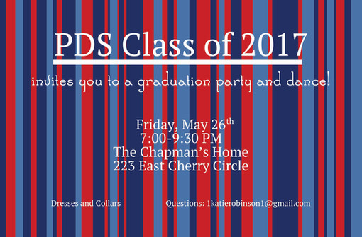 PDS Grad Party