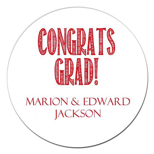 Congrats Grad Red