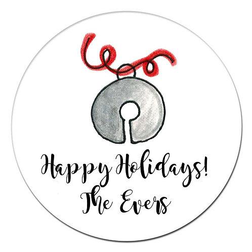 Jingle Silver Sticker