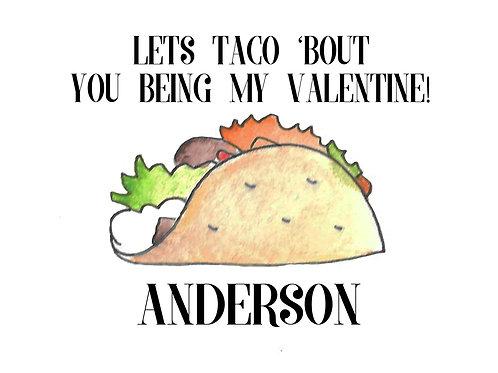 Taco Valentines