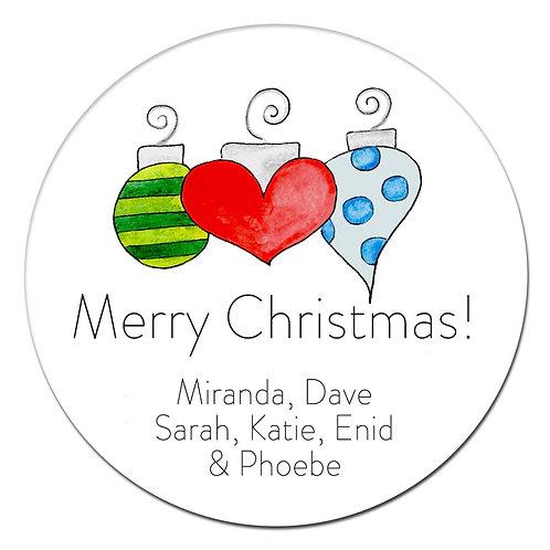Ornaments Love Sticker
