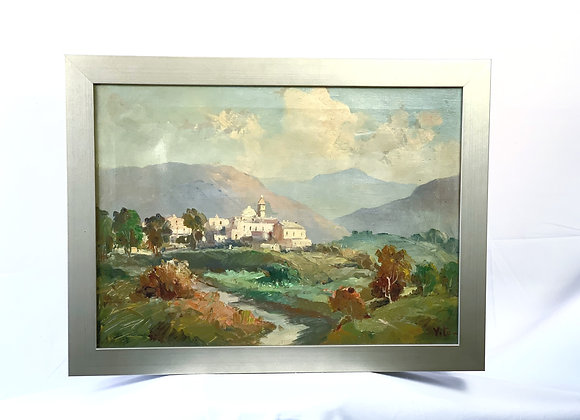 20TH C FRENCH OIL PAINTING