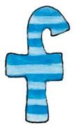F L Blue Stripes