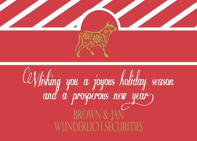 Broker Holiday Card