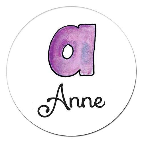 a Purple