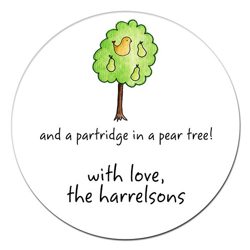Partridge Stickers
