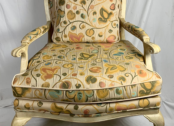 PAIR OF CUSTOM FRENCH ARMCHAIRS