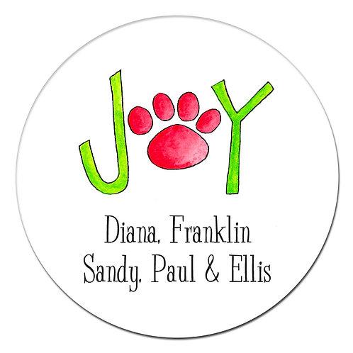 Puppy Joy Sticker