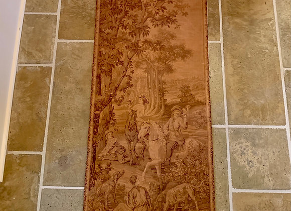 PAIR OF FRENCH HANGING TAPESTRIES