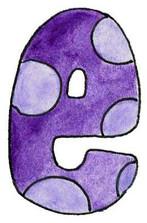 E L Purple Dots