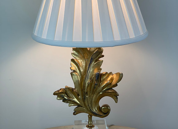 ANTIQUE FRAGMENT LAMP WITH ACRYLIC BASE