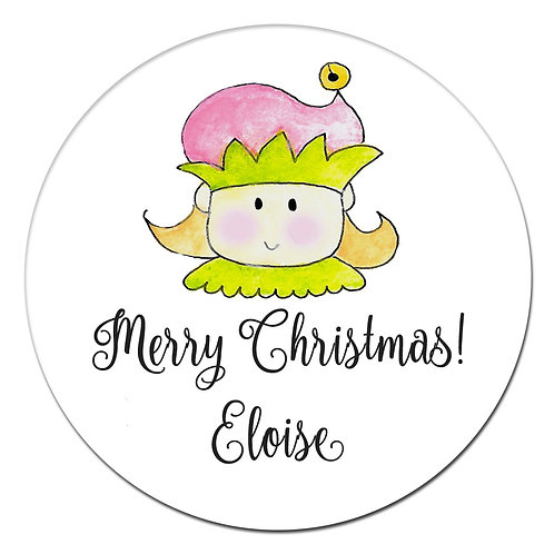 Elfin Girl Sticker